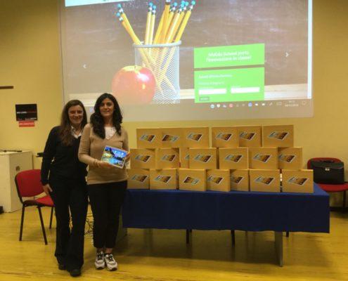 FME Education: consegna tablet all'IC Borgo Venezia di Verona