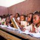 Una classe della Scuola d i Strada ad Haiti