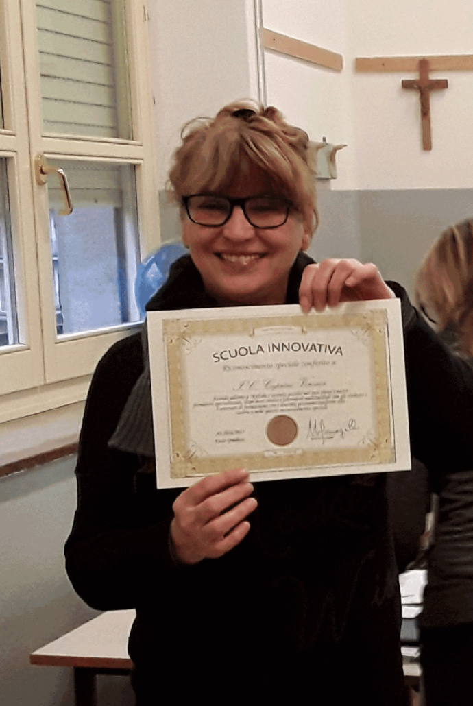 Filomena Pellegrino, animatrice digitale con il Diploma di Scuola innovativa