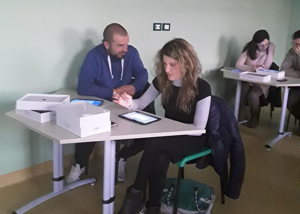 All'IP Maria Immacolata docenti al lavoro
