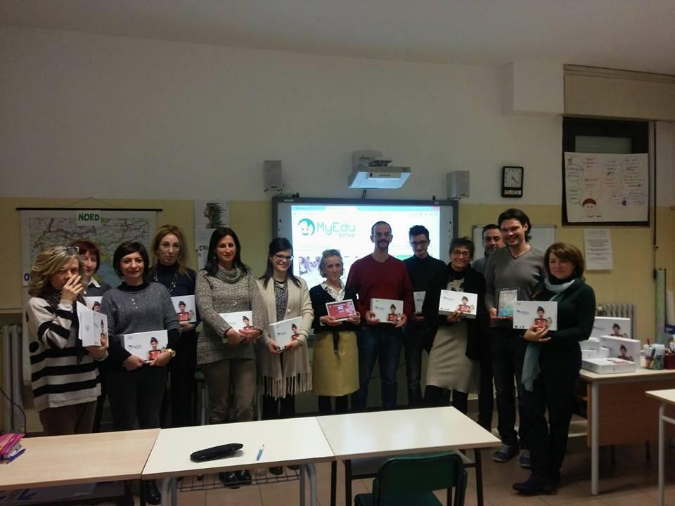 I docenti delle secondarie dell'IC Fogazzaro di Baveno