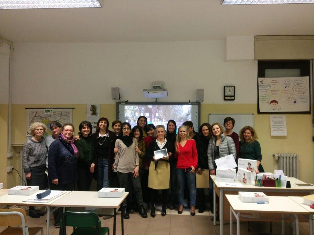 I docenti delle primarie dell'IC Fogazzaro di Baveno