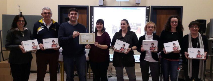 IC Castell'Arquato: i docenti con la nostra Tutor Alessia Montefusco