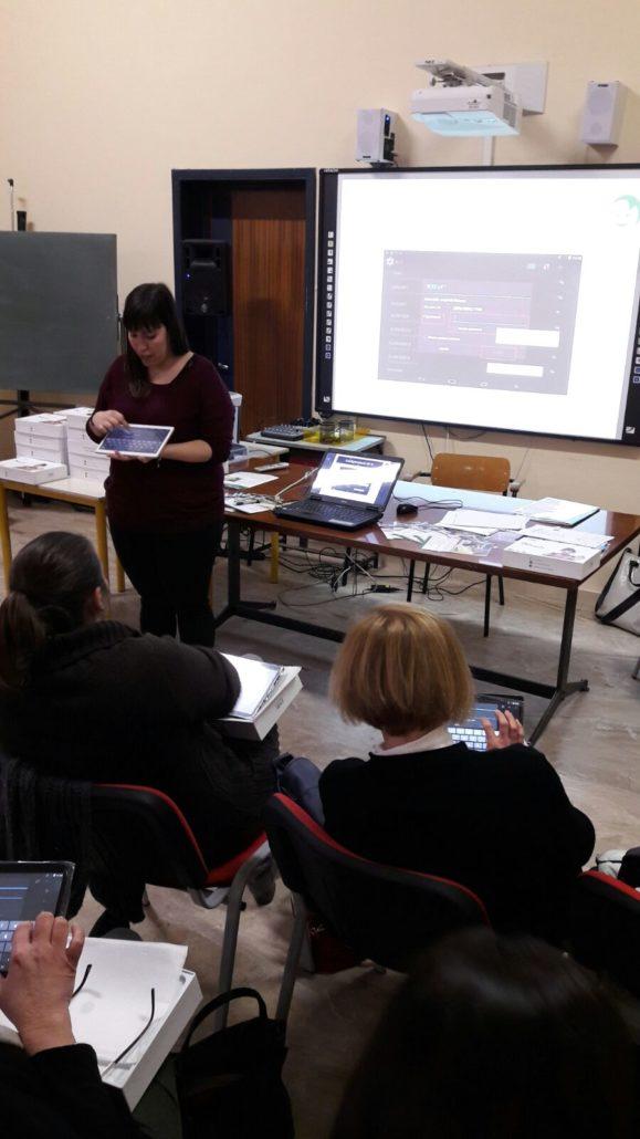IC Castell'Arcquato: un momento del seminario di formazione per i docenti