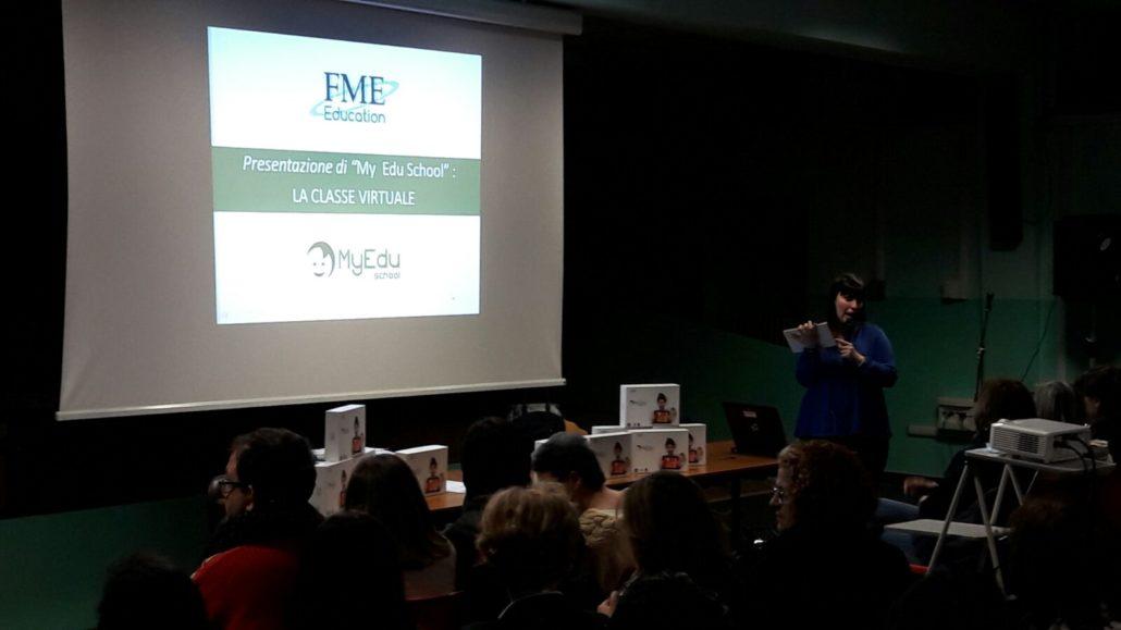 Ic Peyron di Torino: un momento dell'incontro di formazione per i docenti