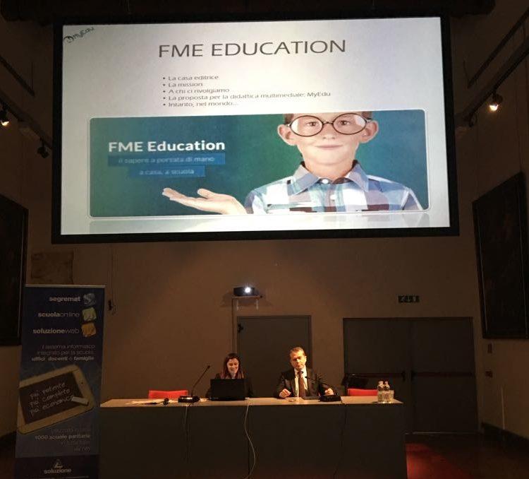 Massimo Fumagalli e Benedetta Negri presentano MyEdu School al Convegno La Scuola del Futuro