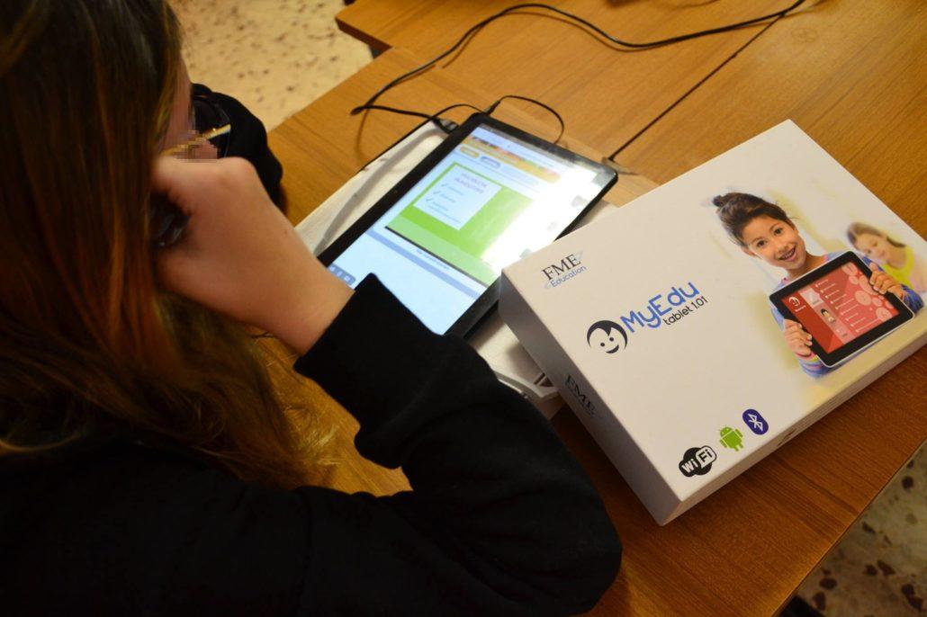 studiare a scuola con il tablet di MyEdu