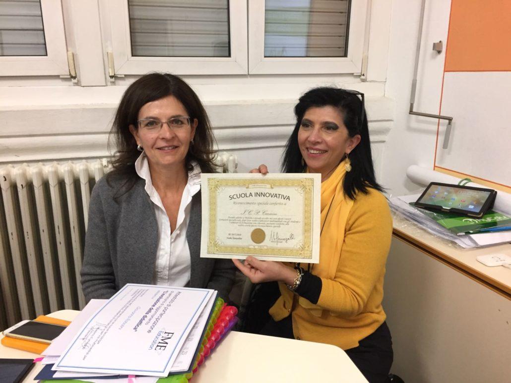 MyEdu School e il diploma di scuola innovativa per l'IP di Cannobio