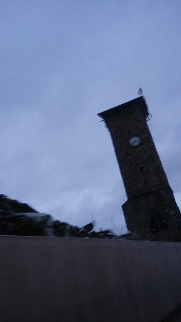 Amatrice: uno scatto rubato alla torre dell'orologio fermo all'ora del terremoto