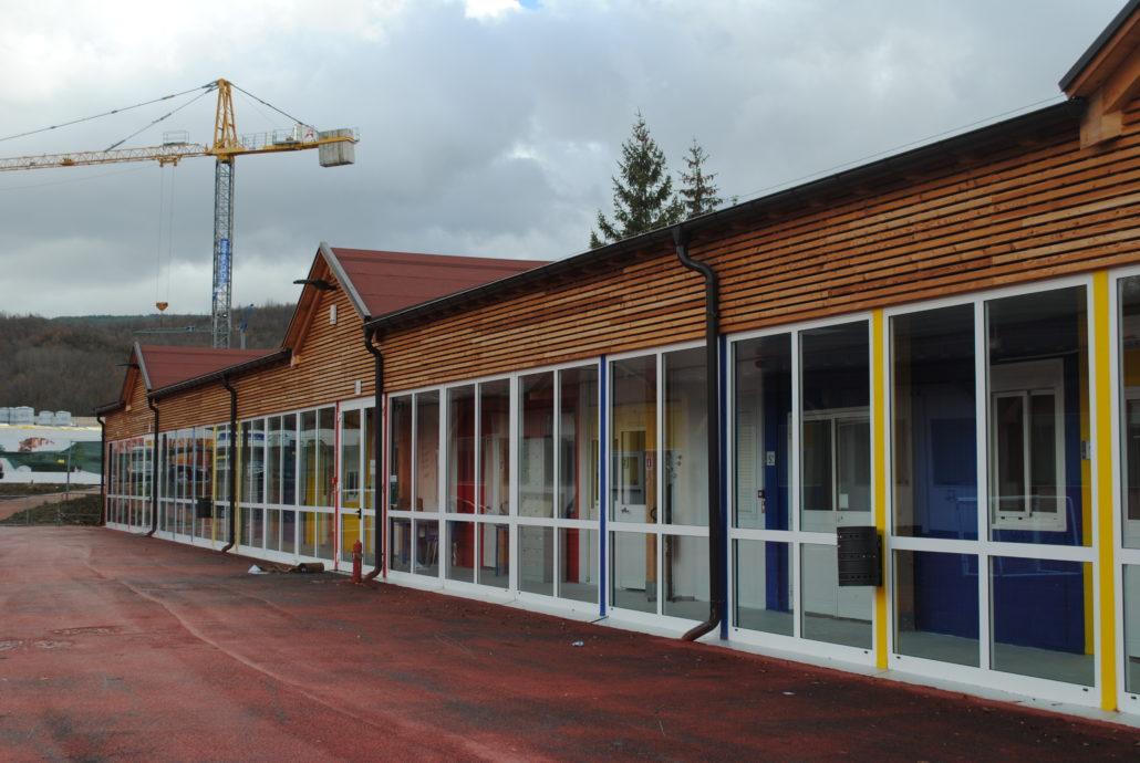 """La scuola di Amatrice """"in prestito"""" dal Trentino"""