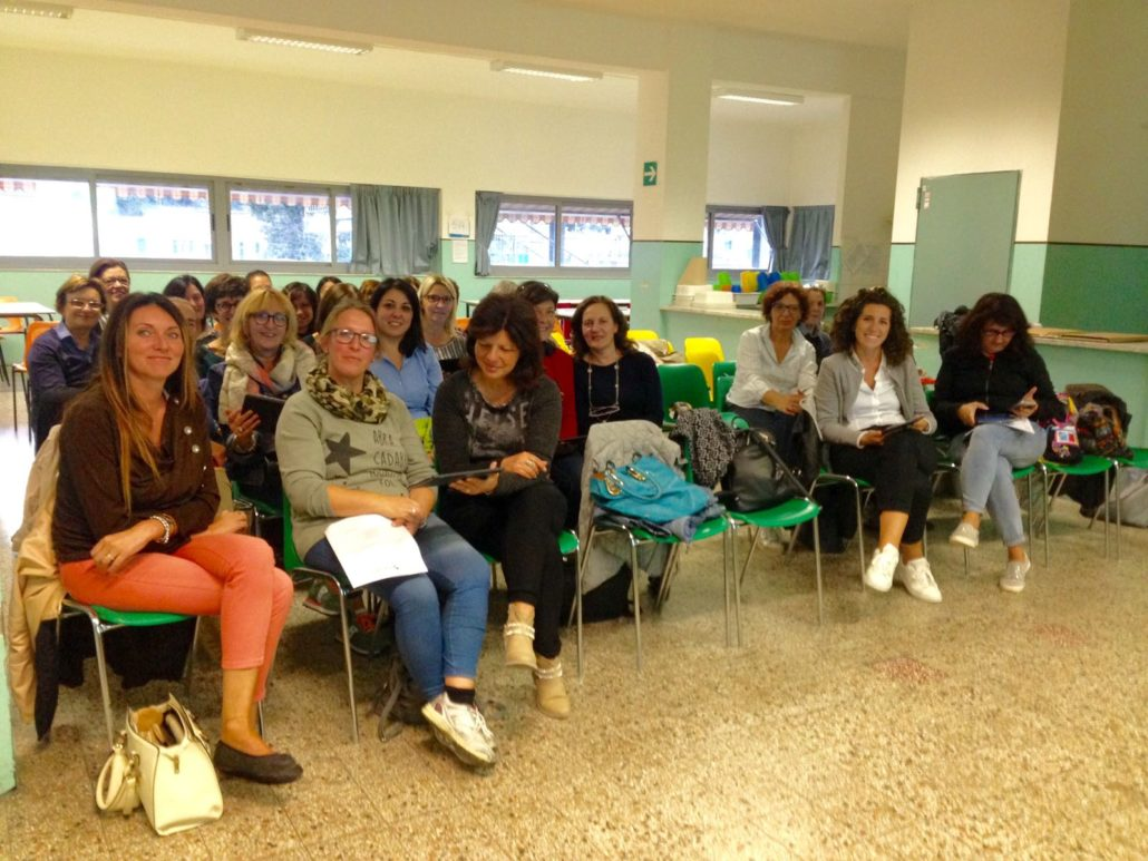 MyEdu_IC Ponente un momento del seminario di formazione