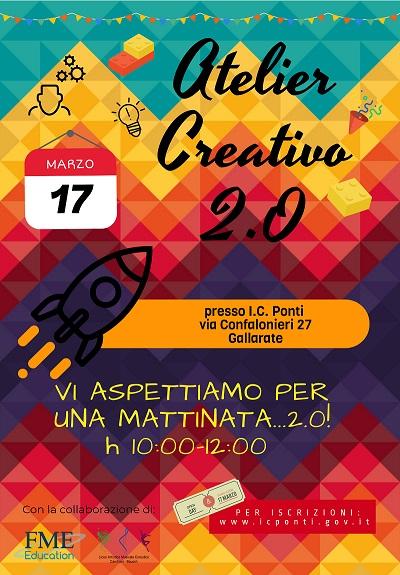 MyEdu-LOCANDINA INAUGURAZIONE ATELIER creativi 17 MARZO 2018_picc