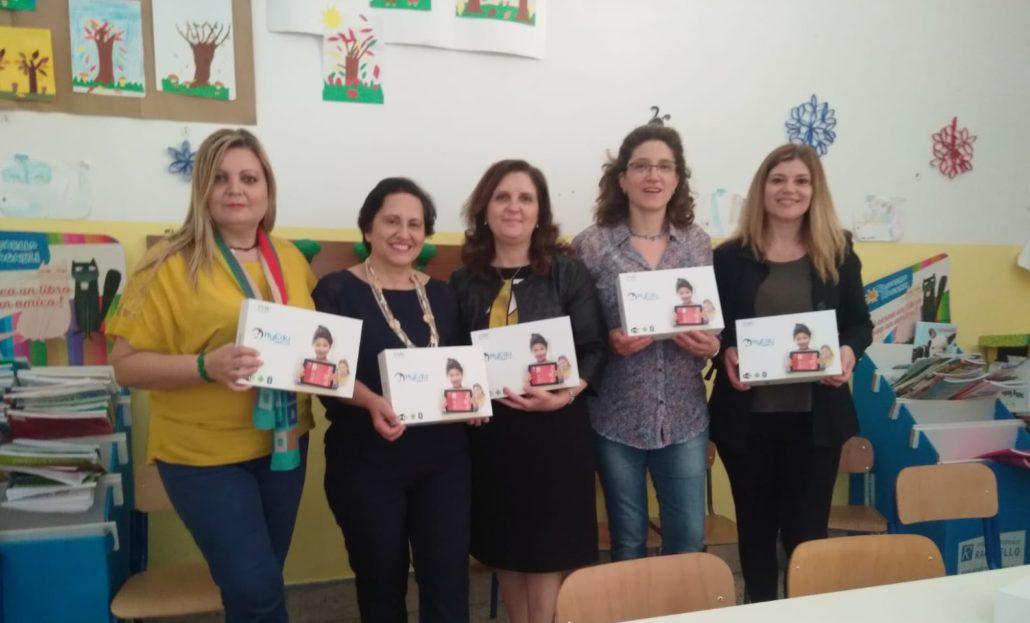Consegna classe virtuale all'IC Sauro di Palermo