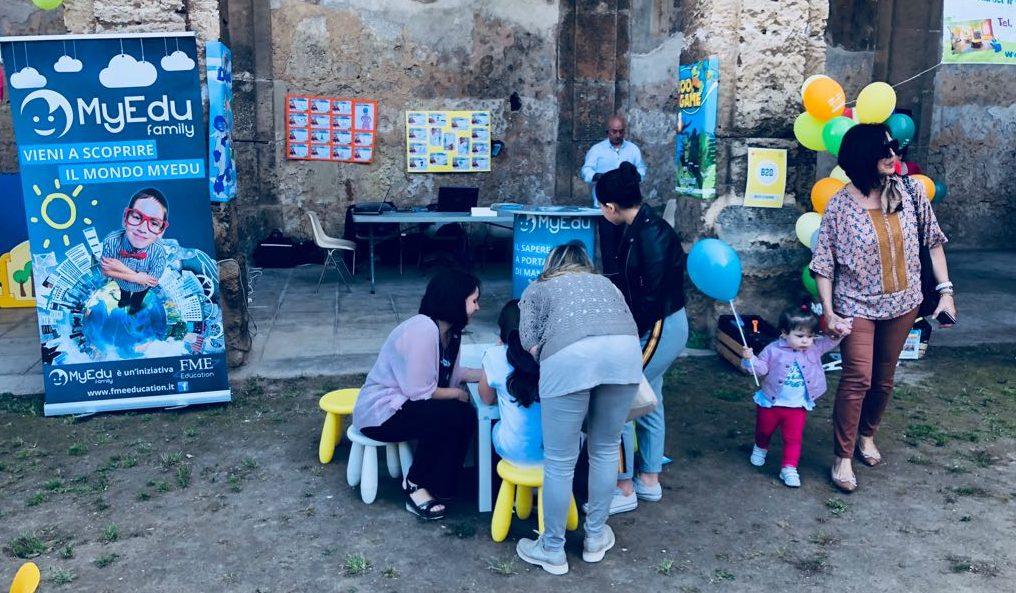 Spazio MyEdu al Family Village di  Palermo