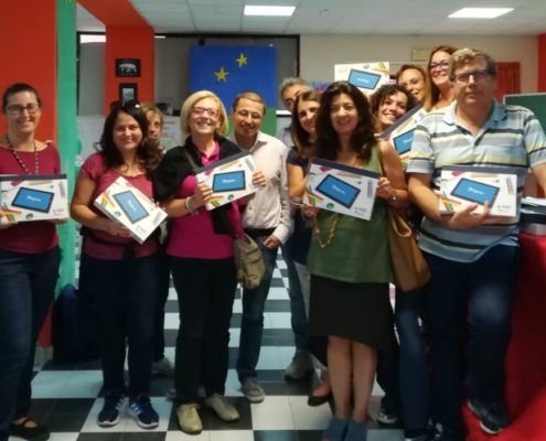 MyEdu seminario di consegna tablet IC Colozza a Palermo