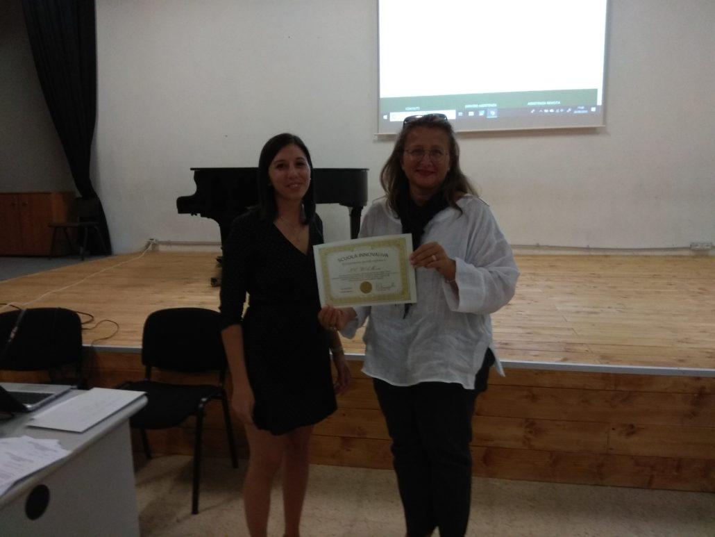 MyEdu - IC Mozart consegna Diploma Scuola Innovativa