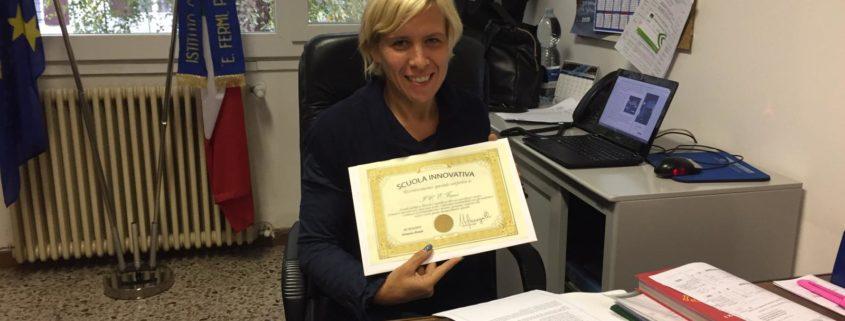 Debora Bianchini, Dirigente dell'IC Fermi di Porto Ceresio