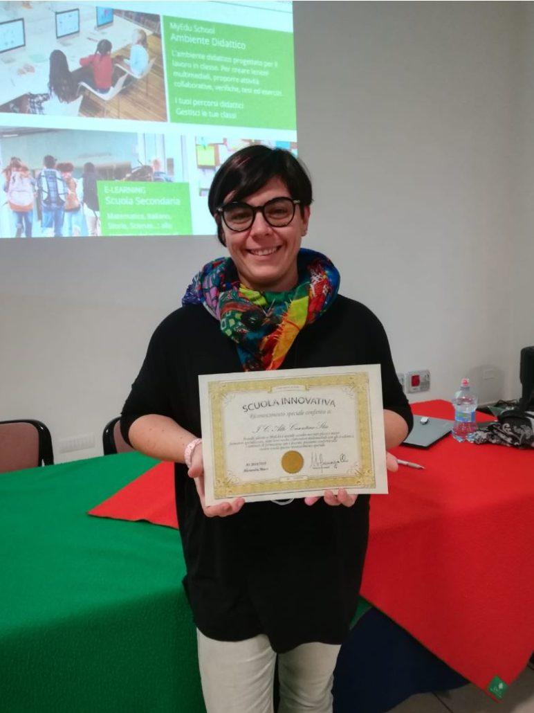 MyEdu - La dirigente Alessandra Mucci dell'IC Alto Casentino