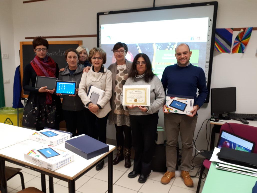 MyEdu e i docenti dell'IC Don Toniatti di Fossalta di Portogruaro dopo il secondo seminario di formazione