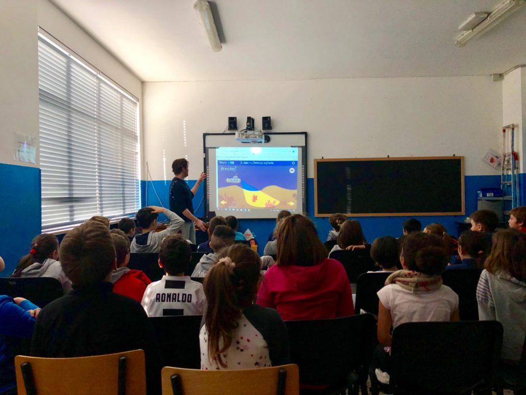 MyEdu in classe: il laboratorio sul mare nella classe 5A della primaria Foglizzo