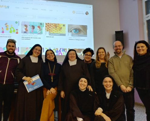 MyEdu all'IP Regina Margherita di Milano