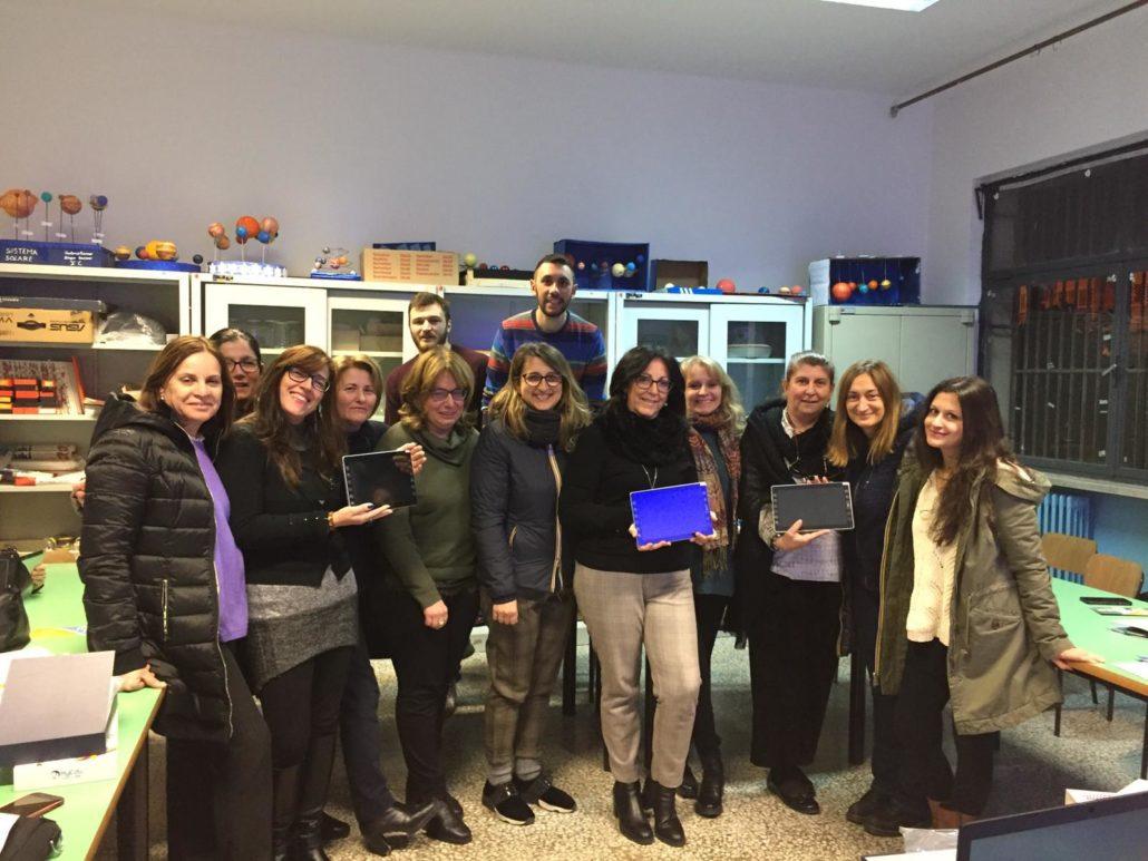 I docenti della San Filippo Neri dopo il seminario di formazione di FME Education