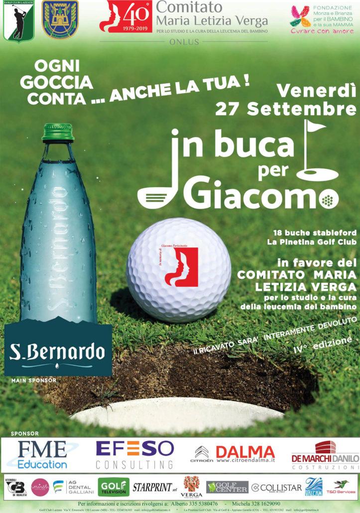 In buca per giacomo Locandina 27 Settembre 2019.indd